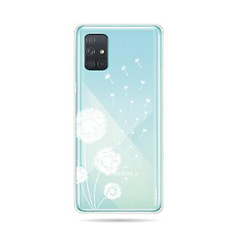 Hull For Samsung Galaxy A71 Supple Pissenlit Flowers