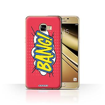 STUFF4 Case/Cover for Samsung Galaxy C5/Bang!/Comics/Cartoon Words