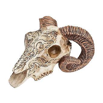 Alchemy Skrimshaw Ram Skull
