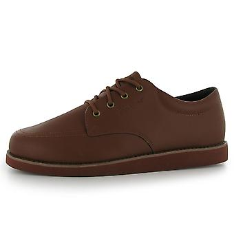 Slazenger Mens Bowls Shoes Lace Up Supportive Ankle Collar Footwear