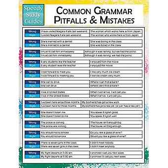 Common Grammar Pitfalls And Mistakes  Speedy Study Guides by Publishing LLC & Speedy