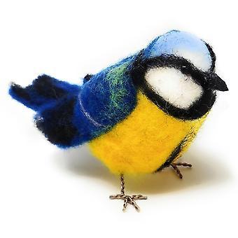 British Birds Blue Tit Neula Huovutus Kit
