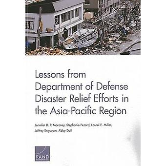 Lessons from Department of Defense Disaster Relief Efforts in the AsiaPacific Region by Jennifer D P Moroney & Stephanie Pezard & Laurel E Miller & Jeffrey Engstrom & Peter Chalk & Abby Doll