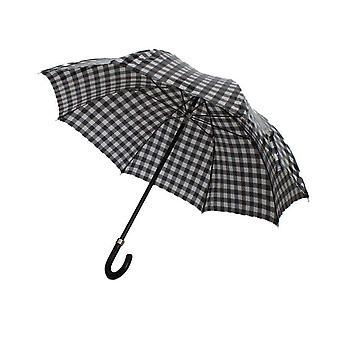 Dolce & Gabbana Black White Check Print Umbrella -- SIG6973040