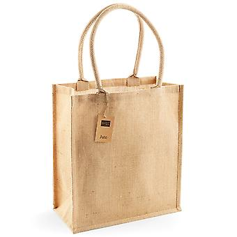Westford Mill Jute Boutique Shopper Bag (19L) (Pack of 2)