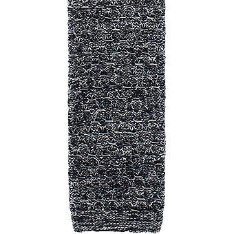 Michelsons van Londen Melange zijde gebreide stropdas - Navy