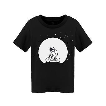 Astronaut Using A Lunar Bike Tee Toddler's -Image by Shutterstock