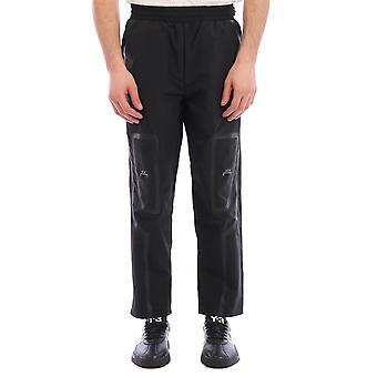 A Parete Fredda Acwmb003whlblack Uomini's Pantaloni in nylon nero