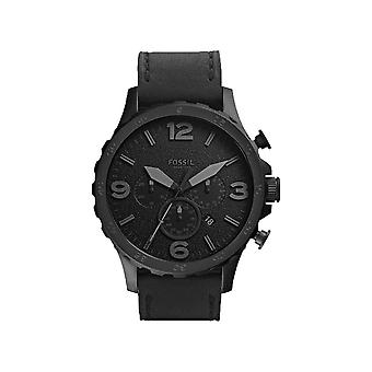Fossil JR1354 Black Dial Black Ion-Plated Men's Watch