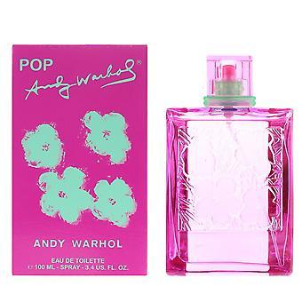 Andy Warhol Pop Eau de Toilette 100ml Spray für Sie
