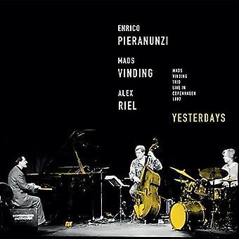 Vinding / Riel / Pieranunzi - Yesterdays [CD] USA import