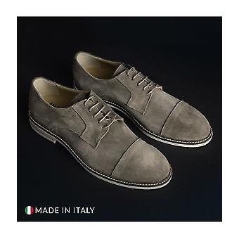 Madrid - Shoes - Lace-up shoes - 605_CAMOSCIO_TORTORA - Men - tan - EU 41