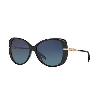Tiffany TF4126B 8001/4U Black/Polarised Blue Gradient