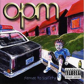 Opm - Menace to Sobriety [CD] USA import