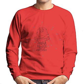 Peanuts Cosmic Charlie Brown Men's Sweatshirt