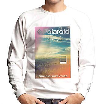 Polaroid erkunden Die endlose Abenteuer Männer's Sweatshirt