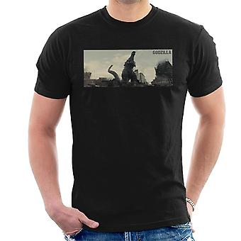 Godzilla Destruction Men's T-Shirt