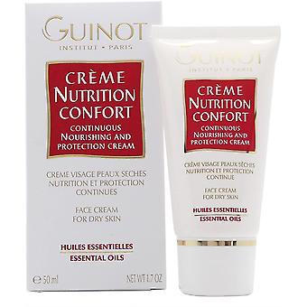 Guinot Creme Nutrição Confort Nutrição Contínua Nutrição e Proteção Creme facial 50ml - Pele Seca