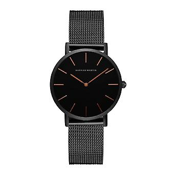 Hannah Martin Ladies Watch - Anologue Movement Mesh Strap for Women - CH36-WFH