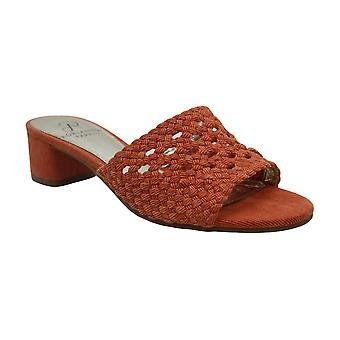 Adrianna Papell Womens Talulah Fabric Open Toe Casual Mule Sandals