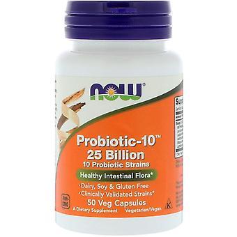Ora alimenti, probiotico-10, 25 miliardi, 50 Veg Capsule
