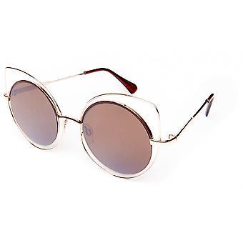 Gafas de sol marrón femenino