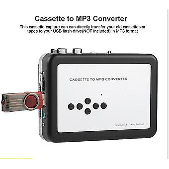 USB Mp3 Kassetten-Player Capture to Mp3 USB Kassette nadierband ohne Pc,
