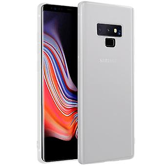 Samsung Galaxy Note 9 Lightweight Silicone Mobile Shell Ultra-Slim Blanc