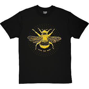 Rette die Bienen Schwarze Männer's T-Shirt