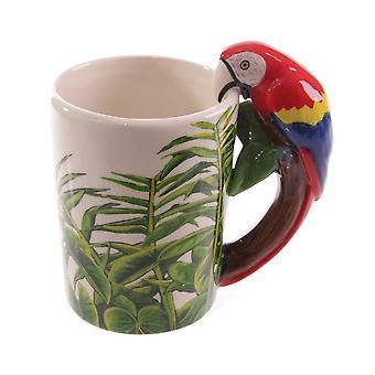 Mugs 3D Figural Cute Cartoon Coffee Cup Verglass Faïence