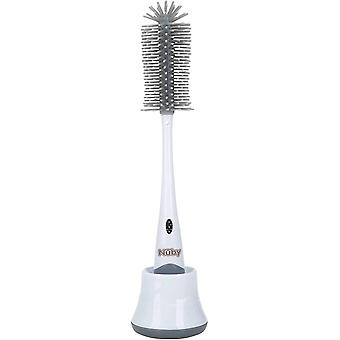 Nuby Silicone Bottle Brush & Stand