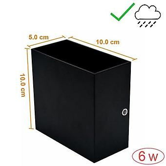 Waterproof Outdoor Wall-lamp 6w/12w Led Source Up And Down Lighting Modern Minimalist Indoor Engineering Porch/garden Light