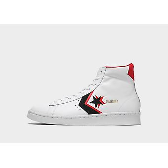 New Converse Men's Pro Leather Ox Trainers White