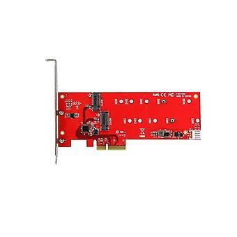 Startech 2 M 2 Ssd κάρτα ελεγκτή Pcie
