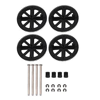 Shaft Kits Motor Pinion Gears Replacement for Parrot AR Drone 2.0 Black