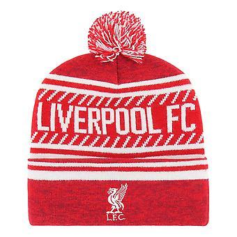 47 العلامة التجارية EPL ليفربول FC الجليد كاب الكفة متماسكة بيني - الأحمر