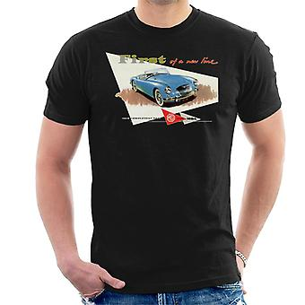 MG First Of A New Line British Motor Heritage Men's T-Shirt