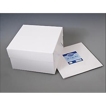 Essential Stapleless Cake Box + Lid 10in CBOX10