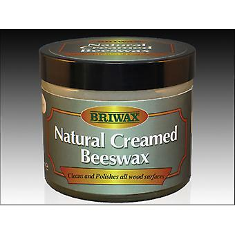 Briwax Natural Creamed Beeswax 250ml