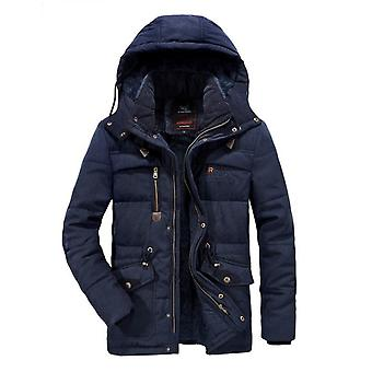 Men's Plus Size Jacket Winter Plus Velvet Thick Warm Cotton-padded Jacket Outdoor Jackets Cycling Clothes Ski Wear