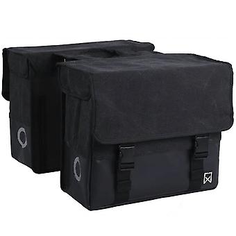 Willex Double Bicycle Bag Fabric 40 L Black 15136