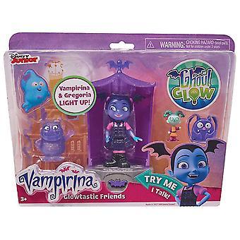 Disney Jr Vampirina Glowtastic Friends Playset
