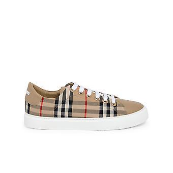 Burberry 8038866a7026 Sneakers in cotone beige da donna