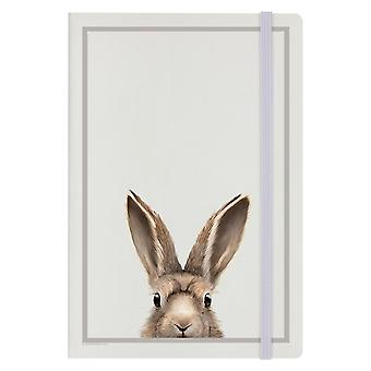 Inquisitive Creatures Hare A5 Notebook