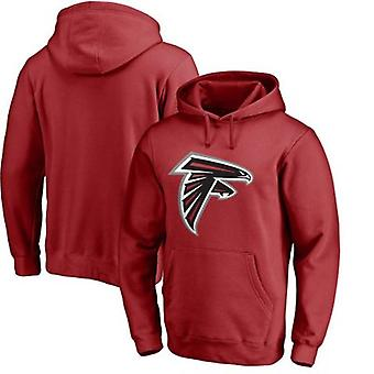 Atlanta Falcons Solto Moletom Com Capuz Hoodie Tops WYK164