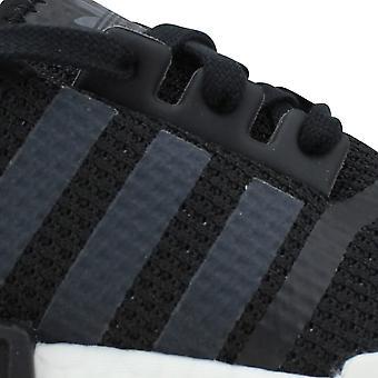 Adidas NMD R1 Core Black/Cloud White-Clear Pink B37649 Women's