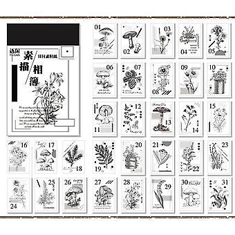 Coleção de desenhos de anos Desmantamento/cartão da Praça da Carta