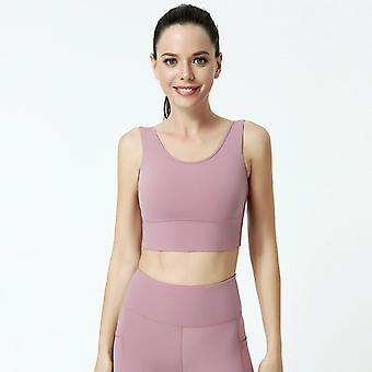 Dames Slim Yoga Fitness Sports Bra C05