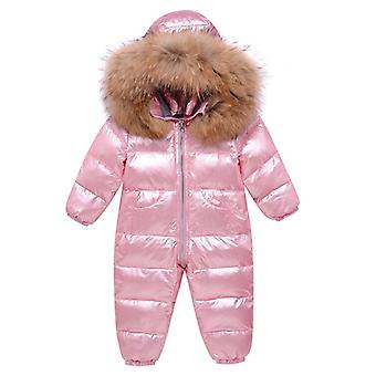 Children's Waterproof Snowsuits Winter Clothing, Down Jacket