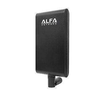 Alfa δίκτυο apa-m25 διπλή ζώνη 2.4ghz/5ghz 8 / 10dbi υψηλής κέρδος κατευθυντική εσωτερική κεραία πάνελ με